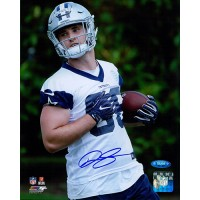 Dalton Shultz Dallas Cowboys Signed 8x10 Matte Photo TRISTAR Authenticated