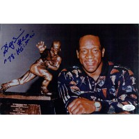 Billy Sims Detroit Lions Signed 7x11 Glossy Photo JSA Authenticated