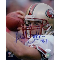 Alex Smith San Francisco 49ers Signed 8x10 Glossy Photo JSA Authenticated