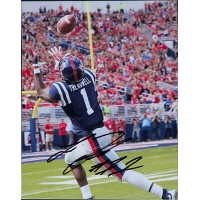 Laquon Treadwell Ole Miss Rebels Signed 8x10 Glossy Photo PSA Authenticated