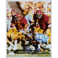 Charles White USC Trojans Signed 8x10 Glossy Photo JSA Authenticated