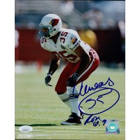Aeneas Williams Arizona Cardinals Signed 8x10 Glossy Photo JSA Authenticated