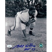 Bill Willis Cleveland Browns Signed 8x10 Glossy Photo JSA Authenticated