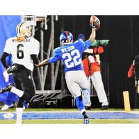 David Wilson New York Giants Signed NFL Matte 11x14 Photo JSA Authenticated