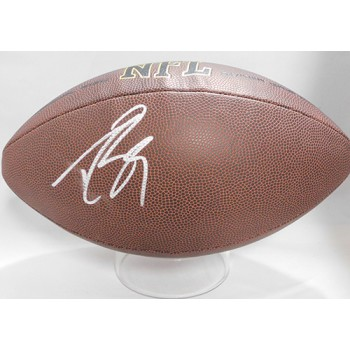 Drew Brees Signed Wilson Super Grip NFL Football JSA Authenticated