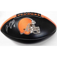 Antonio Callaway Cleveland Browns Signed Black Logo Football JSA Authenticated
