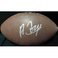 Amari Cooper Signed NFL Wilson Super Grip Football JSA Authenticated