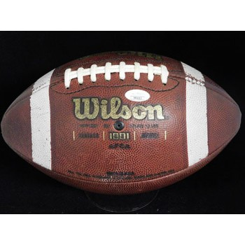 Terry Donahue Signed Wilson NCAA Official Game Football JSA Authenticated