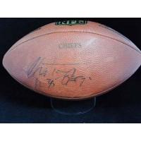 Christian Okoye Kansa City Chiefs Signed NFL Game Football JSA Authenticated