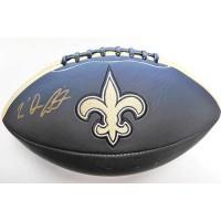 Tre' Quan Smith New Orleans Saints Signed Black Logo Football JSA Authenticated