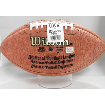 Ken Stabler Signed Wilson Ofiicial NFL Blemish Football PSA/DNA Authenticated