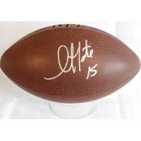 Golden Tate Signed Wilson Super Grip NFL Football JSA Authenticated