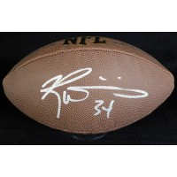 Ricky Williams Signed Wilson Super Grip Football JSA Authenticated