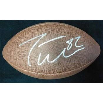 Jason Witten Signed Wilson The Duke NFL Football JSA Authenticated