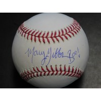Mary Gibbs Signed Monsters, Inc. Boo MLB Baseball JSA Authenticated
