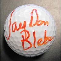 Jay Don Blake PGA Signed Titleist Pro V1X Golf Ball JSA Authenticated