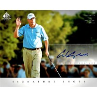 Chad Campbell Signed 2004 SP Signature Shots 8x10 Stock Photo UDA Authenticated