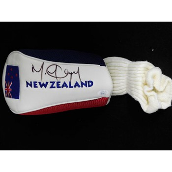 Michael Campbell PGA Signed New Zealand Golf Head Cover JSA Authenticated