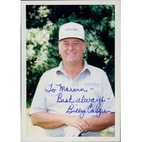 Billy Casper PGA Golfer Signed 3.5x5 Matte Photo JSA Authenticated