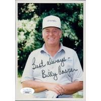 Billy Casper PGA Golfer Signed 5x7 Matte Photo JSA Authenticated