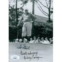 Billy Casper PGA Golfer Signed 5x7 Glossy Photo JSA Authenticated