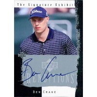 Ben Crane Golfer Signed 2003 Upper Deck Renditions The Signature Exhibit Card