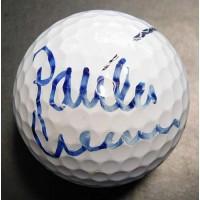 Paula Creamer LPGA Signed Titleist Golf Ball JSA Authenticated