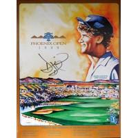 David Duval Signed 1999 Phoenix Open Program JSA Authenticated