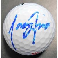 Tony Finau PGA Signed Nike Golf Ball JSA Authenticated