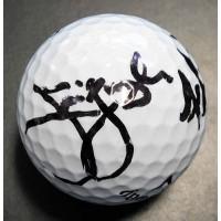 Jim Furyk and Fluff Cowan PGA Signed Callaway Golf Ball JSA Authenticated