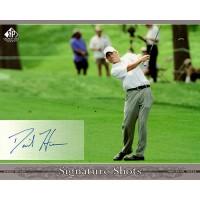 David Hearn Signed 2005 SP Signature Shots 8x10 Photo UDA Authenticated