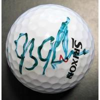 J.B. Holmes PGA Signed Srixon Golf Ball JSA Authenticated