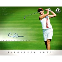 Carin Koch Signed 2004 SP Signature Shots 8x10 Stock Photo UDA Authenticated
