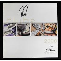 Davis Love III PGA Golfer Signed Titleist 2000 Catalog JSA Authenticated