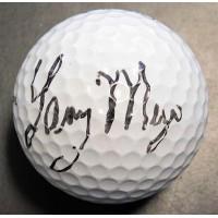 Larry Mize PGA Signed Titleist Golf Ball JSA Authenticated