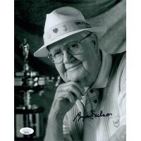 Byron Nelson PGA Golfer Signed 8x10 Matte Photo JSA Authenticated