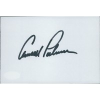 Arnold Palmer PGA Signed 4x6 Index Card JSA Authenticated