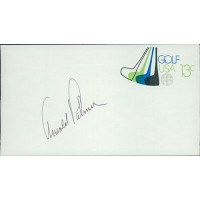 Arnold Palmer PGA Golfer Signed Golf USA Cachet JSA Authenticated