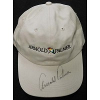 Arnold Palmer PGA Signed Tan Hat JSA Authenticated