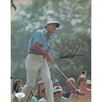 Arnold Palmer PGA Signed Magazine Page JSA Authenticated