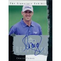 Craig Perks Golfer 2003 Upper Deck Renditions The Signature Exhibit Card #PE