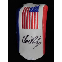 Chris Riley PGA Signed USA Golf Head Cover JSA Authenticated
