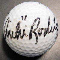 Chi Chi Rodriguez PGA Signed Wilson ProStaff Golf Ball JSA Authenticated