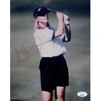 Annika Sorenstam LPGA Golfer Signed 8x10 Glossy Photo JSA Authenticated