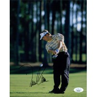 David Toms PGA Golfer Signed 8x10 Glossy Photo JSA Authenticated