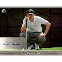 D.J. Trahan Signed 2005 SP Signature Shots 8x10 Photo UDA Authenticated