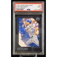 Cody Bellinger Dodgers 2020 Panini Diamond Kings Blue Frame Card #53 PSA 9 Mint