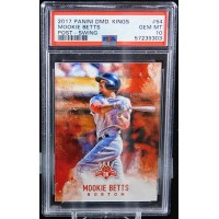 Mookie Betts Boston Red Sox 2017 Panini Diamond Kings Card #54 PSA 10 Gem Mint