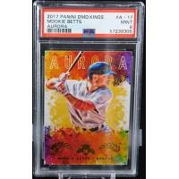 Mookie Betts Boston Red Sox 2017 Panini Diamond Kings Card #A-17 PSA 9 Mint