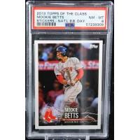 Mookie Betts Boston Red Sox 2019 Topps of The Class Sticker Card PSA 8 Near Mint